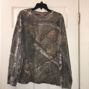 Realtree camouflage long sleeve shirt
